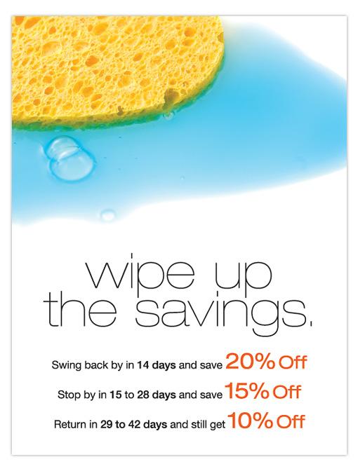 FRP Wipe Up The Savings