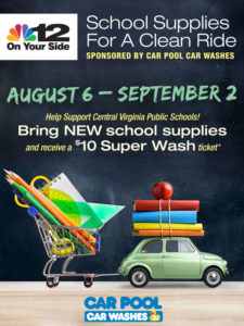 Car Pool NBC12 Supply Drive