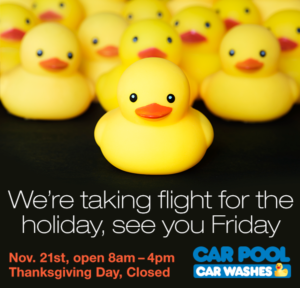 We're taking flight for the holiday, see you Friday