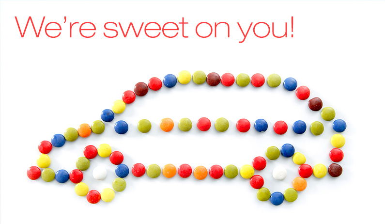 We're sweet on you!