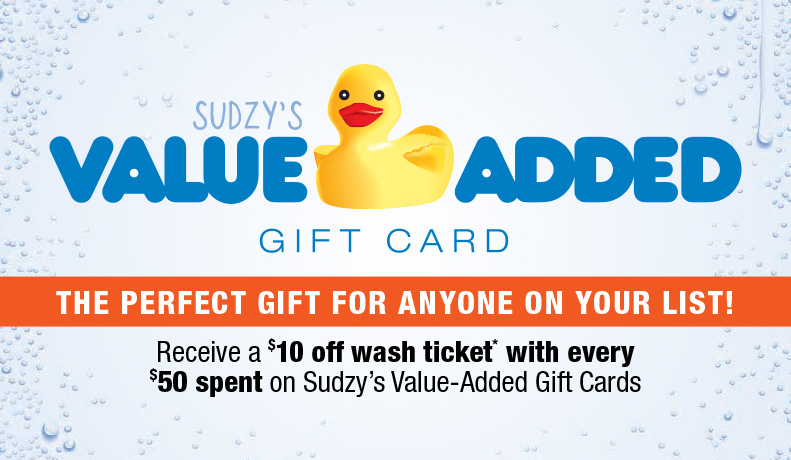 Sudzy's Value-Added Holiday 2019 Gift Card Deal